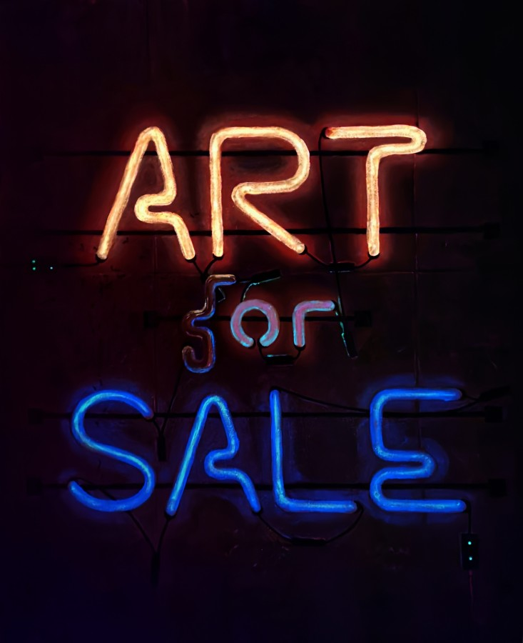Art (f)or Sale