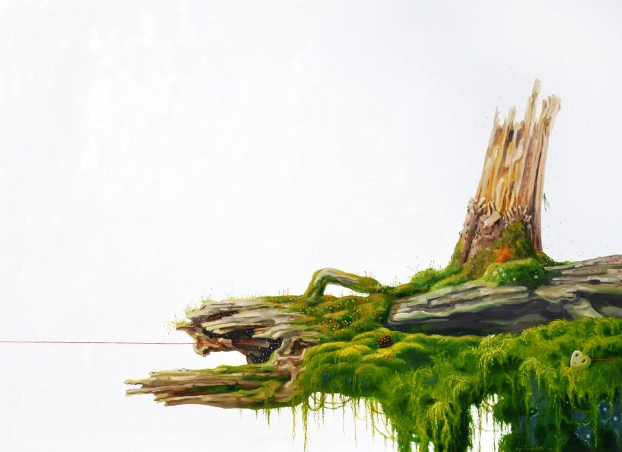 Asleep in the Moss (Miegas samanose)